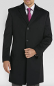 Kenneth Cole New York Men's Slim Fit Topcoat for $100 + free shipping