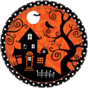 Frightfully Fancy Dinner Plates 18-Pack for $5 + free shipping