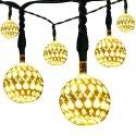 10 Kohree Solar LED String Fairy Lights for $10 + free shipping w/ Prime