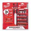 Milwaukee 40-Piece Shockwave Impact Bit Set for $20 + pickup at Home Depot