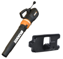 Worx Turbine 450 Electric Leaf Blower, Mount for $25 + free shipping