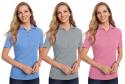 3 Hanes Women's ComfortSoft Pique Polo Shirt for $17 + free shipping