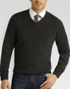 Joseph Abboud Men's V-Neck Cashmere Sweater for $100 + free shipping