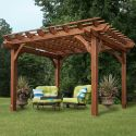12x10-Foot Cedar Pergola from $899 + free shipping