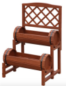 Convenience Concepts Double Barrel Planter for $42 + free shipping