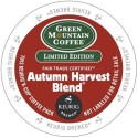 96 Green Mountain Autumn Harvest K-Cups for $47 + free shipping