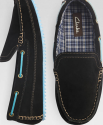 Clarks Men's Suede Moccasin Slippers for $40 + free shipping