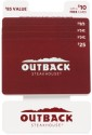 $85 in Outback Gift Cards for $78...or less + free shipping