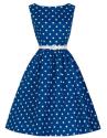 SheIn Women's Polka Dot A-Line Dress for $16 + free shipping