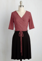ModCloth Women's Presentation Coach Dress for $48 + $6 s&h