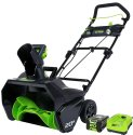 """Greenworks Pro 20"""" Snow Blower w/ Battery for $250 + free shipping"""
