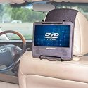 Portable DVD Player Car Headrest Mount for $11 + free shipping w/ Prime