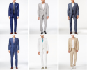 Men's Suits / Suit Separates at Macy's from $15 + free s&h w/beauty item