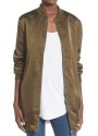 Missguided Women's Satin Bomber Jacket for $31 + free shipping