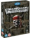 Pirates of the Caribbean Box Set on Blu-ray: $10 + $4 s&h