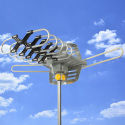 Best Choice HDTV Rotor Outdoor Antenna for $36 + free shipping