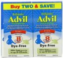 Advil Infants' Dye-Free Fever Reducer 2-Pack for $6 + free shipping