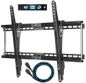 HDTV Wall Mount, 10ft. HDMI Cable, Level for $18 + free shipping w/Prime
