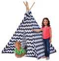 Discovery Kids Wood and Canvas Play Teepee for $30 + pickup at Kohl's