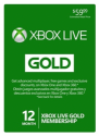 Microsoft Xbox Live 12-Month Gold Membership for $38