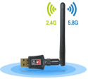 Anewkodi Dual Band 802.11ac WiFi USB Adapter for $12 + free shipping w/ Prime