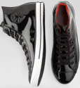 Converse Men's Patent Leather High-Top Shoes for $24 + free shipping