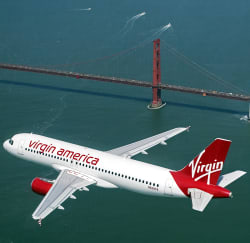 Virgin America Fares to San Francisco from $96 RT