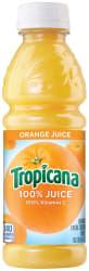 Tropicana 10-oz. Orange Juice Bottle 24-Pack $10