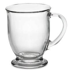 Libbey Kona Glass Coffee Mug for $3
