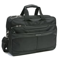 Perry Ellis Deluxe Easy Scan Briefcase for $40