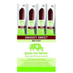 Grass Run Farms Beef Sticks 12-Pack for $12