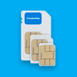FreedomPop 4G LTE SIM Kit w/ 8GB SD Card for $1