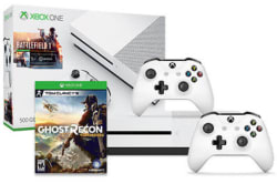 Xbox One S 500GB w/ 2 Games & Controller for $250