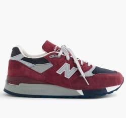 New Balance x J.Crew Men's 998 Sneakers for $84