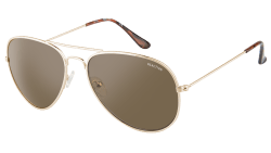 Kenneth Cole Unisex Aviator Sunglasses for $19