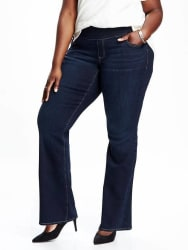 Old Navy Women's Plus-Size Boot-Cut Jeans for $32
