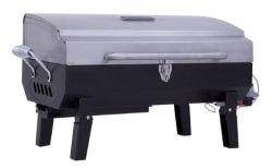 Char-Broil Stainless Steel Portable Gas Grill $39