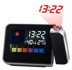 LED Weather Forecast Projection Alarm Clock for $6