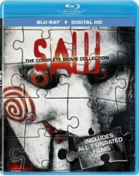 Saw: The Complete Movie Collection on Blu-ray for $9 + pickup at Best Buy