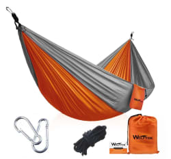 Wolfyok Portable Camping Hammock for $16
