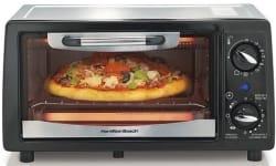 Hamilton Beach 4-Slice Toaster Oven for $7