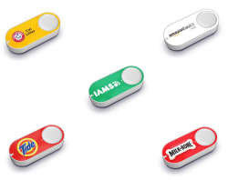 2 Amazon Dash Buttons, $10 Amazon Credit for $5