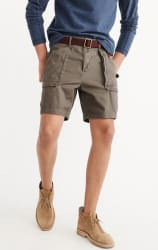 Abercrombie & Fitch Men's Utility Shorts for $17