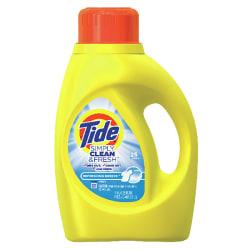 Tide High-Efficiency Detergent 40-oz. Jug for $2