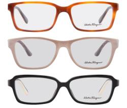 Salvatore Ferragamo Men's and Women's Glasses $60