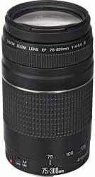 Canon EF 75-300mm f/4-5.6 III Telephoto Lens $79