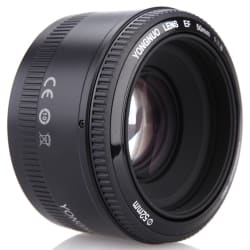 YongNuo YN EN 50mm f/1.8 AF Prime Lens for $44
