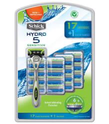 Schick Hydro 5 Razor w/ 17 Cartridges for $28