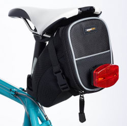 AmazonBasics Small Saddle Bike Bag for $2