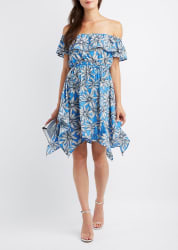 Charlotte Russe Women's Sharkbite Dress for $14